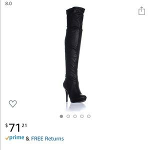 Thigh High Beckie boots